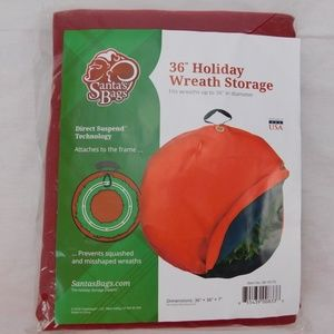 36 inch wreath storage bag, new
